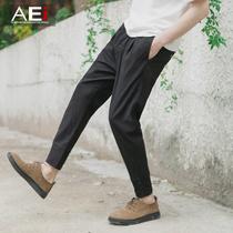 Thin slim mens young Korean tide male harem pants