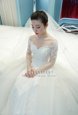 Wedding dress jj008