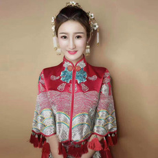 Cheongsam dress Show Wo family 059