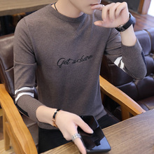 New style round neck knitting sweater in autumn and winter