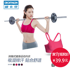 Короткий топ Decathlon DOMYOS