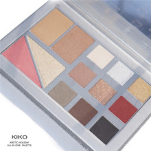 The meat balls are ready KIKO 2017 Christmas limited eye shadow 13 full set of color makeup plates.