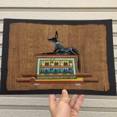 Египет Египет бумагу Лиза живопись Анубис