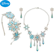 Shanghai, Hongkong, Disney, paradise, icy hair, necklace, necklace, Crown Necklace