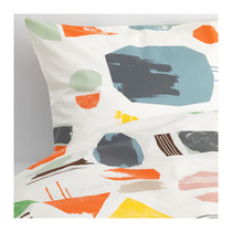 Genuine IKEA Dowrin IKEA quilt cover and pillowcase cotton purchase fee