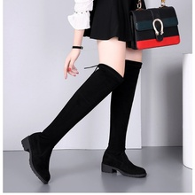 Chinese and Korean women's shoes show thin net red women's Boots
