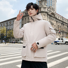 2019 winter new cotton padded jacket down cotton padded jacket men's trend Korean new cotton padded jacket for students and teenagers
