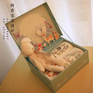 春夏婴儿礼盒宝宝出生礼品套盒长短袖纯棉服装用品满月周岁礼物母婴用品