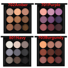 Special brand MAC M.A.C 9 color nine color eye shadow plate, nine palace Eyeshadow combination make-up plate, earth wine red
