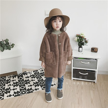 T16 custom made children's clothing Vintage Art wool sweater cashmere sweater sweater cardigan coat boys and girls