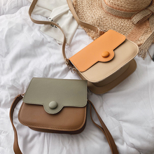 Spring and summer ins small bag women's 2019 new fashion Korean version fashion simple and versatile One Shoulder Messenger Bag Small Square bag