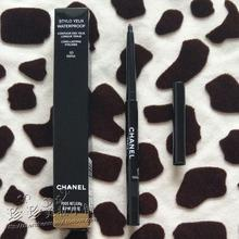 Day duty free Chanel Chanel Waterproof Eyeliner 10# 0.3g black fast dry durable dense anti halo