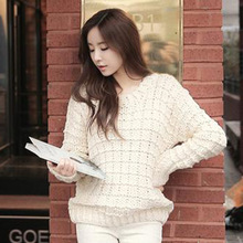 Knitted pullover new Korean sweater
