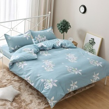 Aijia home textile skin friendly breathable single quilt cover single double student dormitory quilt cover no pilling no shrinkage