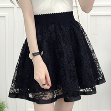 Net yarn, autumn and winter, new style, high waist and A-line skirt