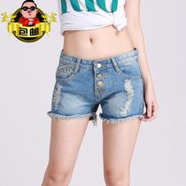 Fashion Joker easy slim womens denim hot pants