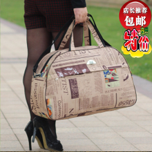 Korean version portable travel bag luggage travel bag large capacity business bag men's and women's waterproof cloth bag