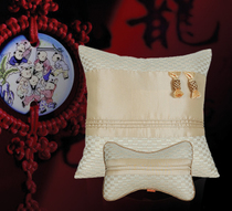 Head rest pillow cushion car Colt auto supplies classic Chinese style new gifts