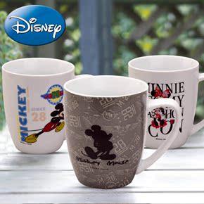 正品迪士尼马克杯 创意陶瓷杯  咖啡杯陶瓷水杯茶杯 可爱牛奶杯