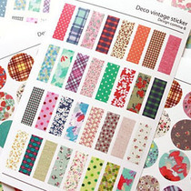 Deco vintage sticker �n���}����@�黨�²��N�� 6���� 0.027