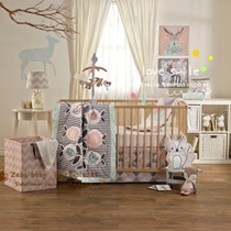 Australia lolli four seasons surrounding playpen bumper crib baby bedding four 130X70 (3)