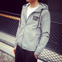Mens Korean version of self in the spring tidal current student Harajuku wind jacket
