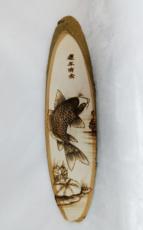 Монгольская бамбуковая картина