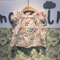 South Korea Moi (spot) umbrella cloud womens treasure women wear Begonia flower shirt shirt t shirt