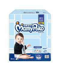 (CAT supermarket) Mommy baby instantaneous absorption and dry not wet diaper L138 9~14kg male urine