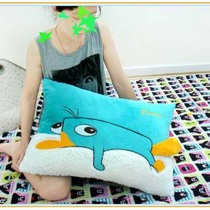 Exporting authentic Phineas and Ferb Terry Allen with a small Buddha Platypus pillow pillows