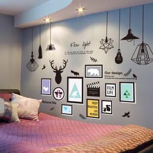 壁纸墙纸自粘宿舍温馨墙贴房间墙面装饰品背景墙卧室贴画海报文艺墙贴装饰