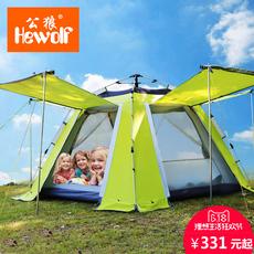 Палатки кемпинговые, горные Hewolf HW/z1699 3-4