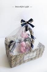 подарочный набор для новорожденных Blue coffee