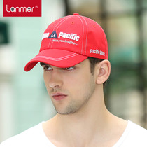 Lanmer Hat man and Korean summer Cap outdoor Hat flashes letters Baseball Cap