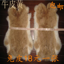 Fur leather rabbit skin Rex rabbit skin warm DIY material