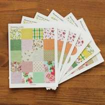 Dailylikeϵ����@�黨�N��/�����z Blooming Sticker��6���룩