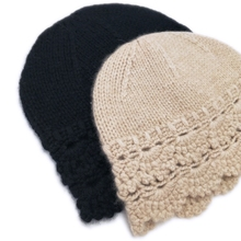 Owool selection! French casual autumn winter handmade wool hat, urinate, cap, Lei hat, knitted pure cashmere hat